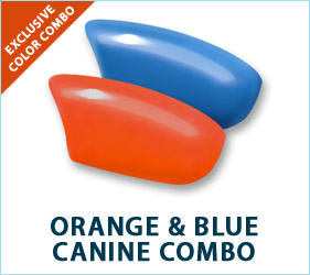 Check out our orange and blue combo!