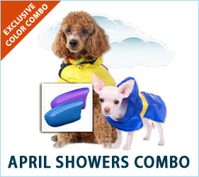 Check out our April Showers combo for dogs!