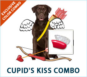 Check out the Cupid's Kiss combo for dogs.